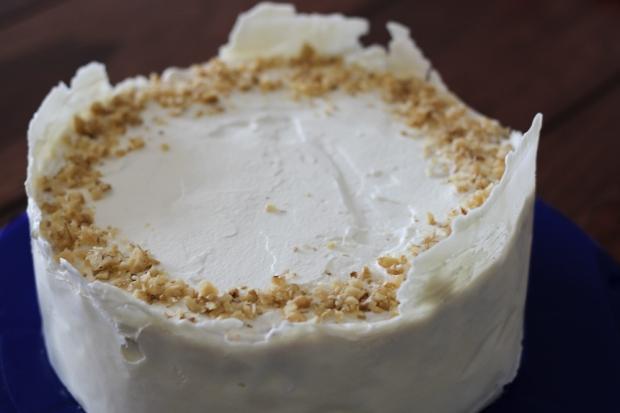 Cream Pear Gateau