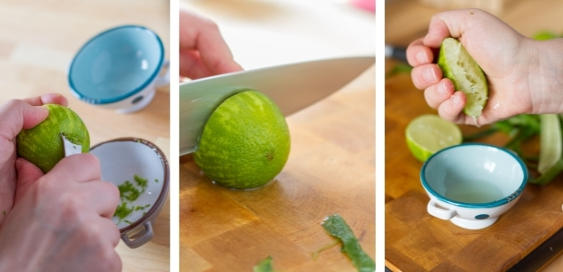 Cucumber and Lime Cupcakes - How To