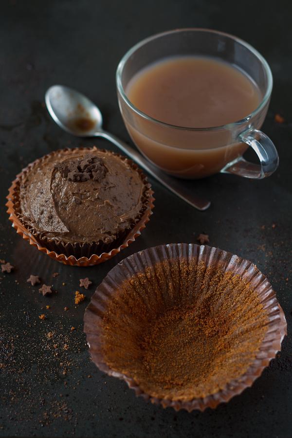 Ovomaltine Cupcakes, eaten ;)