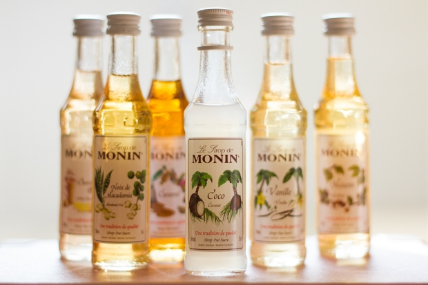 Monin small try bottles
