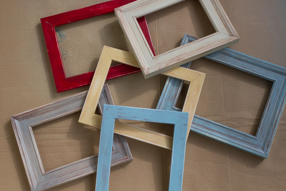 Diy vintage frames icing sugar for How to make vintage frames