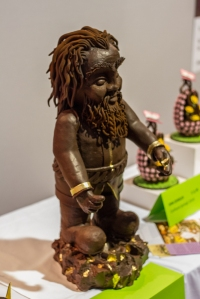 Chocolate Sculptures @ Le Salon du Chocolat