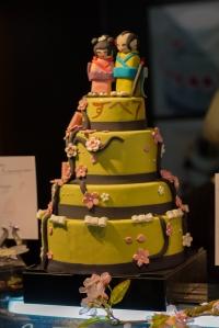Decorated Cake @ Le Salon du Chocolate
