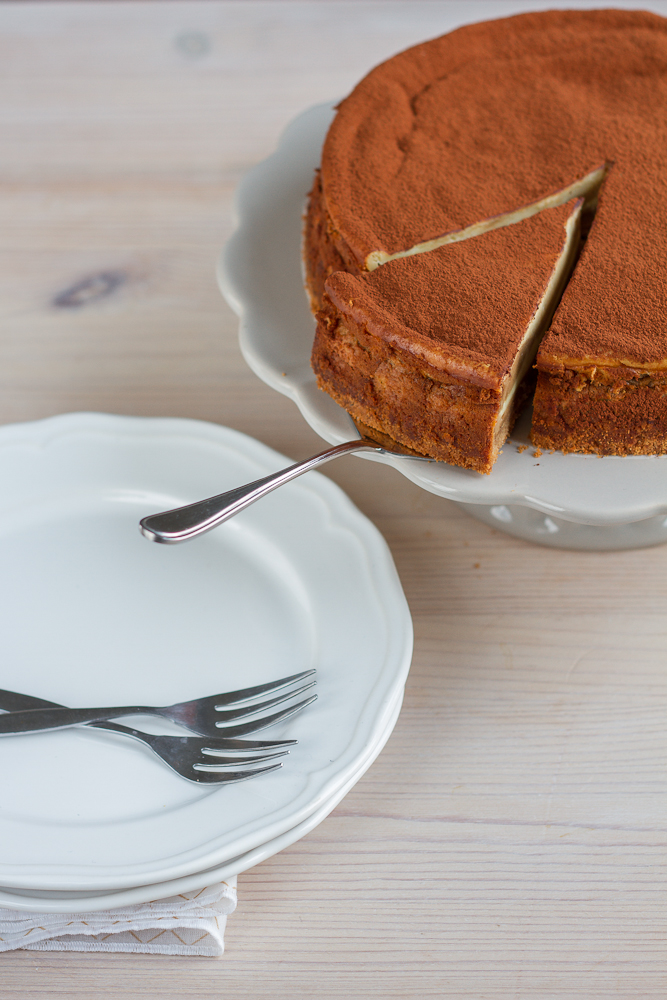 Philadelphia Tiramisu Cheesecake