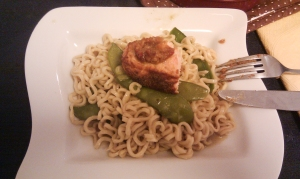 Dinner - Jamie's 30 Minute Meals (Salmon and Noodles)