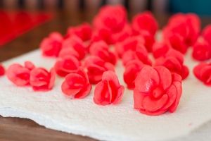 Fondant Roses - How To
