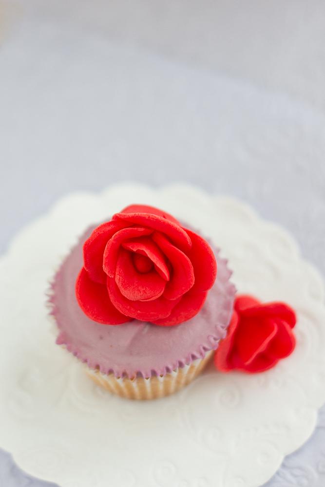 Rose Mini Cupcakes
