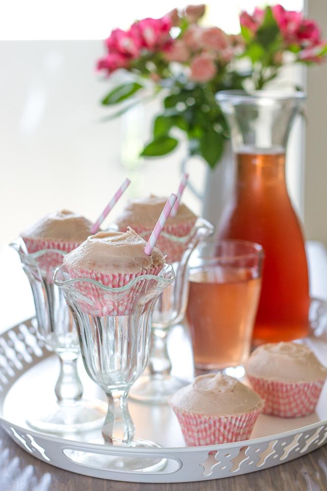 Ice Tea Cupcakes