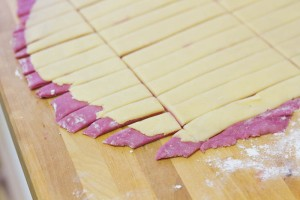 Candy Cane Cookies: How To