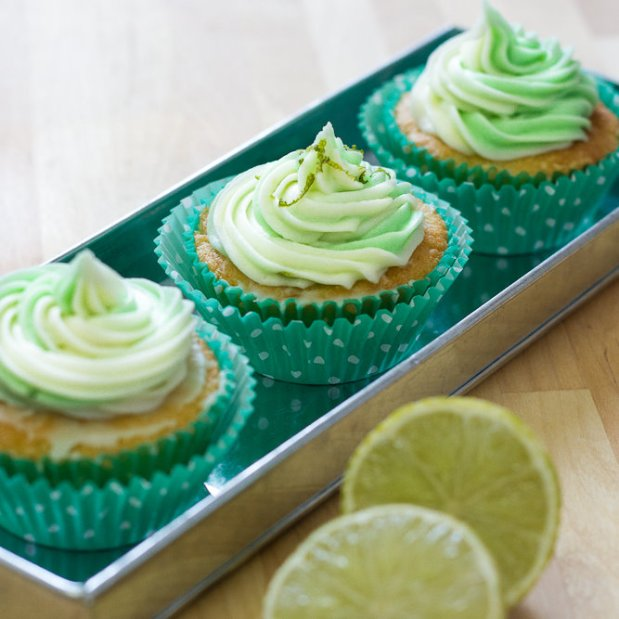 Cucumber Lime Cupcakes
