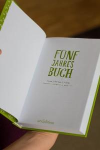 5 Jahres Buch (5-Year Book)