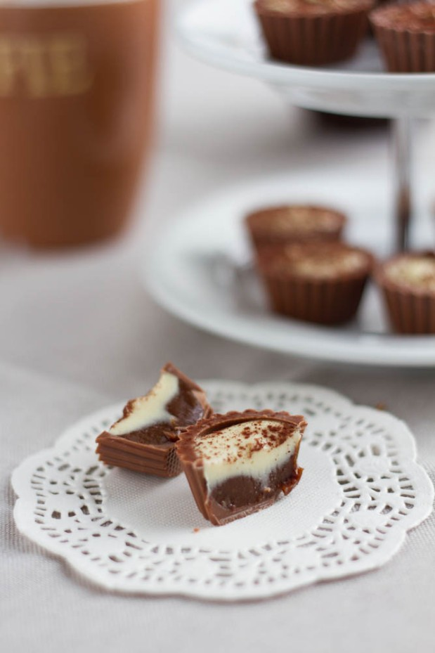 Cappuccino Cup Pralines